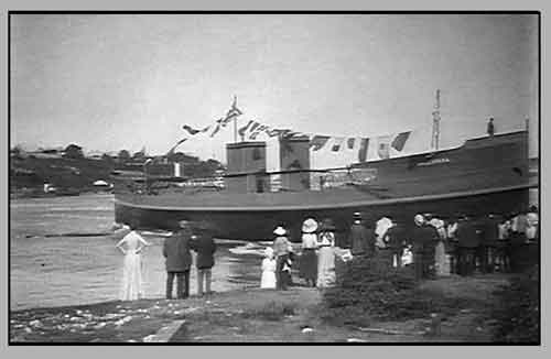 The launch of the Bellubera