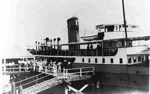 Doomba as a ferry