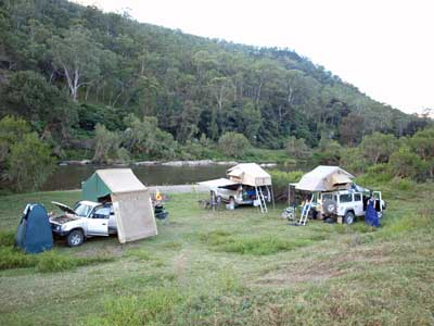Macleay River camp site