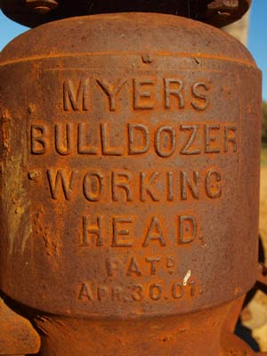 Myers Bulldozer Pump