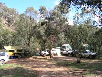 The Sink Camping Area