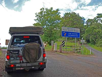 Queensland/NSW Border