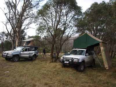 Davies Plain Hut Camp Site
