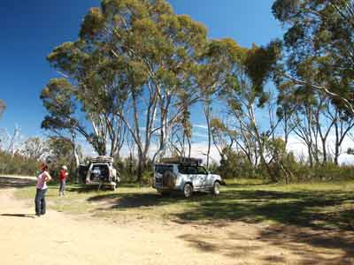 McFarlane Saddle Camping Area