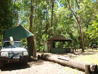 Sheepstation Creek Camping Area