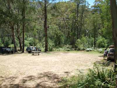 Wombat PO Camping Area