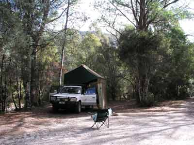 Collingwood River Camp Site