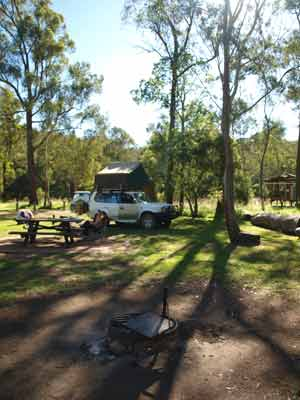Washpools Camping Area